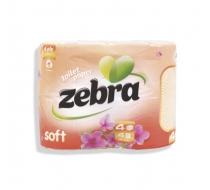 Тоалетна х-я Зебра SOFT 36бр.