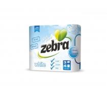 Тоалетна х-я Зебра Бяла 36 бр